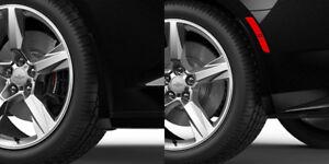 2016-2019 Camaro Genuine GM Front & Rear Splash Guards Mosaic Black Metallic