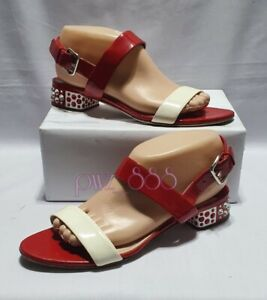 MIU MIU Jewelled Heels Sandals Shoes Size 38