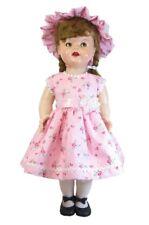 Sweet Dress and Bonnet for 22 inch Saucy Walker Dolls