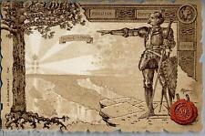 GHIONE 59° Reggimento Fanteria Art Nouveau  WWI PC Circa 1904