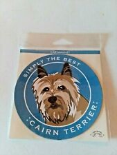 Cairn Terrier Dog Car Magnet