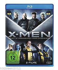 X-Men: Erste Entscheidung / X-Men: Zukunft ist Vergangenheit [Blu-ray] *NEU&OVP*