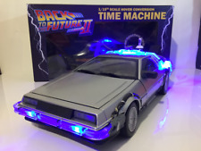 Back to the Future II Time Machine with Lights and Sound 1:15 Scale