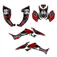 TRX300EX Graphics for Honda TRX 300 EX decals 2007 - 2013 #3333 Red