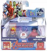 Minimates Marvel Captain Marvel & Red Hulk Walgreens Exclusive