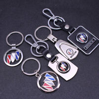 Metal Key Chain Key Ring car logo Keychain pendant Key Holder Fit For Buick