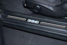 Molduras de puertas para MINI Union Jack Black (cooper,s,one,R50,R53) door sills