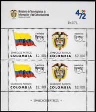 COLOMBIE / COLOMBIA 2010. América UPAEP. Symboles Nationaux. National Emblems