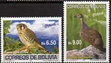 Timbres de l'Amérique latine, sur oiseaux