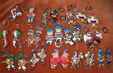 Porte-clés Key Ring Chocolat CANTALOUP Coupe du Monde 1966 Lot de 27 figurines