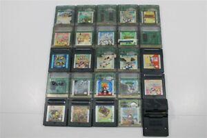 Discounted Game Boy Color Lot of 25 Games- Wario Land 2, Mega Man, Super Mario