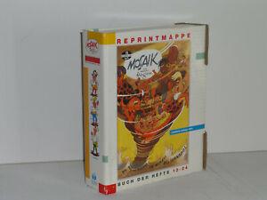 Mosaik Reprintmappe 2 Buch der Hefte 13 - 24 Auflage 1993 Digedags