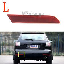 Left For Mazda CX-7 2010-2012 Rear Bumper Lamp Reflectors Red Cover Light Inner