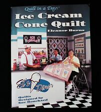 Quilt in a day, Ice Cream Cone Quilt by Eleanor Burns