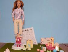 2003 Barbie Happy Family Neighborhood Midge & Nikki Puppy 1st Birthday set RARE