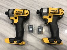 "1//4"" Impact Drill W// EXTRAS New Dewalt 20v 3 LIMITED # Belt Clips 3"