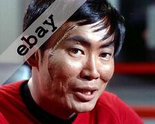 STAR TREK TOS GEORGE TAKEI as SULU with big scar 8X10 PHOTO #1760