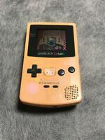 Nintendo Game Boy Color Pink Hello Kitty Japan USED