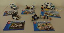 (J8)LEGO CITY 7285 60041 3177 7279  POLIZEI USW. MIT BA 100% KOMPLETT AUSWAHL