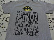 Large- Batman DC T- Shirt
