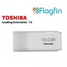 Toshiba TransMemory 16GB usb 2.0 flash drive memory stick pen drive-blanc
