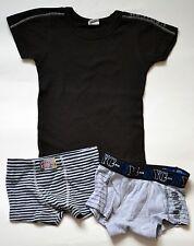 ABSORBA sous-vêtements 3 pièces : tee-shirt & 2 boxers pour garçon 3 ans (94 cm)