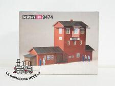 KIBRI 9474 H0 1:87 Bausatz Bahnhof Stellwerk Lager Ottbergen Unbespielt OVP