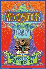 Woodstock Max Yasgurs Farm Concert Poster 24x36 Inch