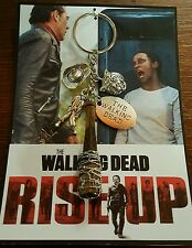 RISE UP COLLECTORS Negan Lucille Bat **Key Chain** ~~The Walking Dead~~***NEW***
