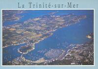 56 - cpsm - LA TRINITE SUR MER - Vue générale sur la baie