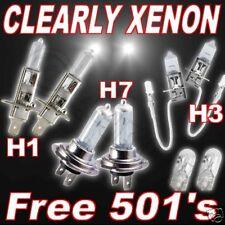 Claro Bombillas para Faros Xenon para Hyundai Xg 98/04 H1H7H3 501