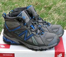 New Balance Boy KB610 Running Hiking Shoes Sneakers Boots Blue Grey Kids 1 32.5