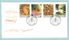 CYPRUS 1989 BEE KEEPING BEES INSECTS HONEY FOOD NATURE WILDLIFE OFFICIAL FDC