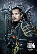 """Suicide Squad Movie Poster Adam Beach - Slipknot - 11"""" x 17"""""""