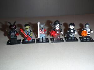 LEGO Series 14 Wolf Werewolf Frankenstein Halloween 71010 Lot of 6 Minifigures