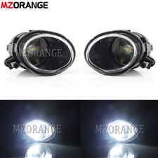 Left+Right LED Blubs for BMW E39 M5 E46 M3 1998-2005 Front Bumper Fog Light Lamp