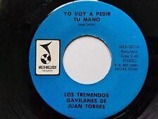 LOS TREMENDES GAVILANES de JUAN TORRES  Yo Voy A Pedir Tu Mano / Calle 5 De Mayo