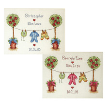 Anchor - Counted Cross Stitch Kit - Birth Sampler - PSC506