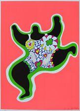 Niki de Saint Phalle Leaping Nana Poster Kunstdruck Bild 70x50cm