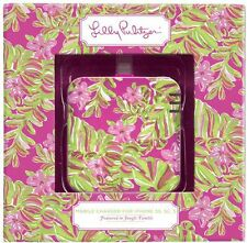 LILLY PULITZER 8 Pin Mobile Charger JUMBLE TUMBLE Pink Portable IPhone 5 6 NEW