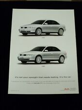 AUDI A4 1999 A4 ADVERT POSTER READY TO FRAME A