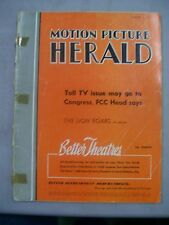 MOTION PICTURE HERALD MAGAZINE MARCH 3 1956 10 WAYS HEAD DRIVE IN