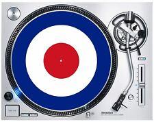 Mod Target DJ Slipmat - The Who Jam Paul Weller Turntable Decks Vinyl