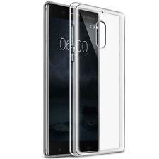 Custodia OKKES cover AIR trasparente per Nokia 8 case protettiva TPU flessibile