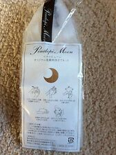 Japan made Penelopi moon Soap Bubbles Maker Sack Sock Pouch Holder Mesh Net