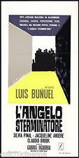 L'ANGELO STERMINATORE 2° TIPO LOCANDINA CINEMA LUIS BUÑUEL EL ÁNGEL EXTERMINADOR
