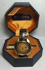Vintage 1973 New Old Stock Swiss Bulova Jet Star Automatic Man's Watch