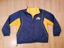Buffalo Sabres Jacket Pullover Reversible Fleece Men's Majestic Size Large