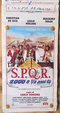 locandina playbill S.P.Q.R. 2000 E 1/2 ANNI FA VANZINA DE SICA BOLDI CINEMA
