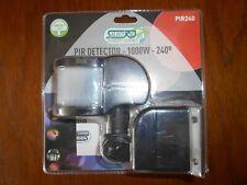 Selectric PIR240 PIR Detector - 1000w - 240 Degree - Black - New & Boxed